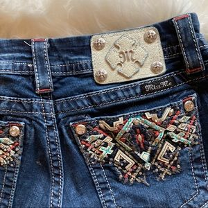 Miss Me Mid Rise Easy Crop Jeans